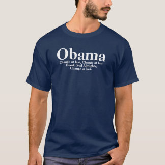 Obama - Change At Last (MLK) T-Shirt