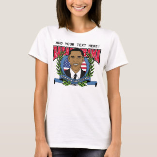 Obama Change Has Come Customize T-Shirt