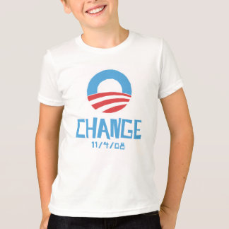 Obama Change Light kid's T-shirt