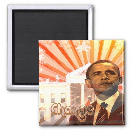 Obama Change Magnet