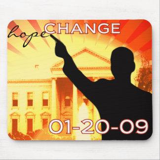 Obama Change Mouse Pad