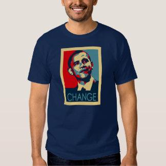 Obama Change Tee Shirts