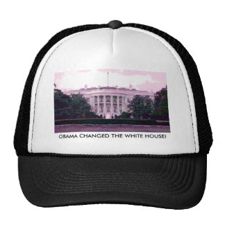 OBAMA CHANGED THE WHITE HOUSE! CAP