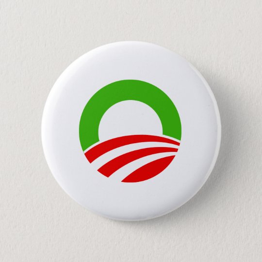 Obama Christmas 6 Cm Round Badge