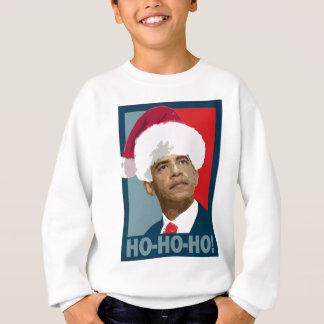Obama Christmas Ho Ho Ho Sweatshirt