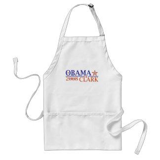 Obama Clark 08 Aprons