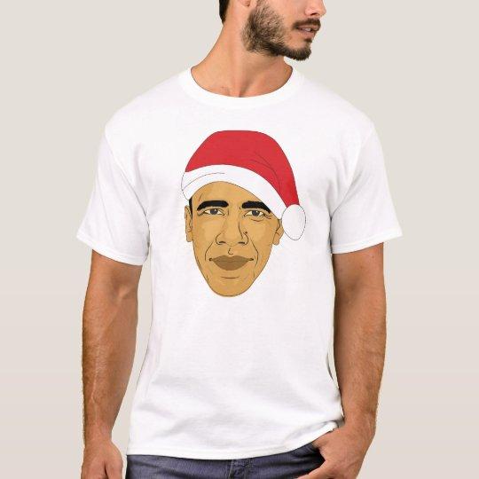 Obama Claus Barack Obama Christmas Tee