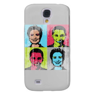 Obama Clinton Faded.png Samsung Galaxy S4 Cover