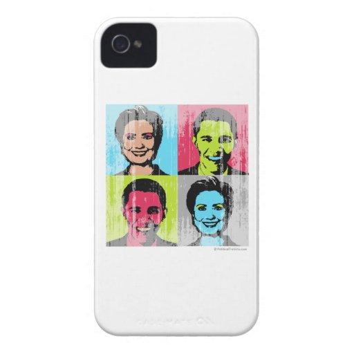 Obama Clinton Faded.png Blackberry Case