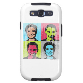 Obama Clinton Faded.png Samsung Galaxy SIII Case
