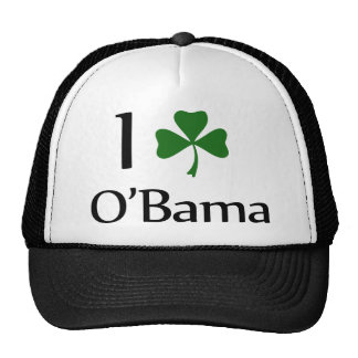obama clover leaf cap