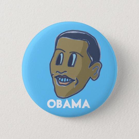 obama comicFace button