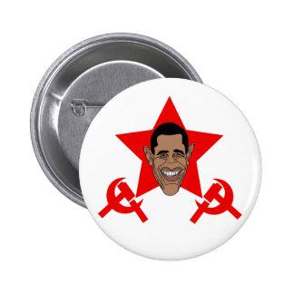 Obama Commie 6 Cm Round Badge