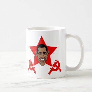 Obama Commie Basic White Mug