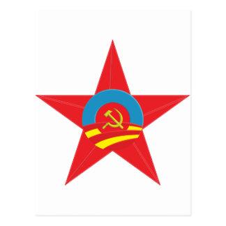 Obama Communist Star Post Cards