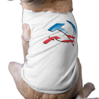 Obama Communist Symbol Dog Clothing
