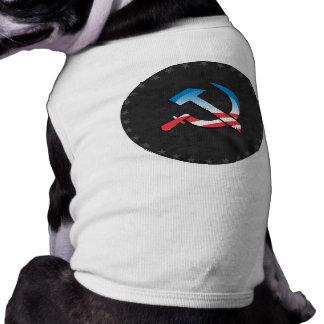 Obama Communist Symbol Doggie Shirt
