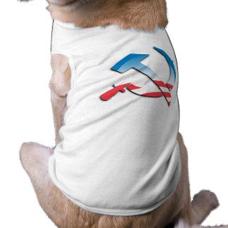 Obama Communist Symbol Pet Shirt