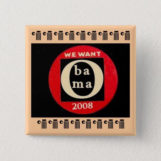 Obama Constructivist -style Square Button