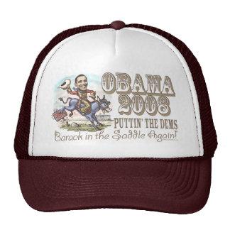 Obama Cowboy 2008 Cap