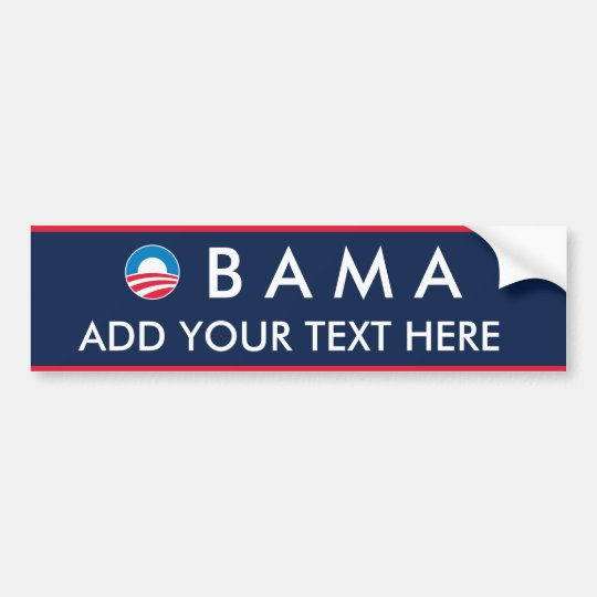 Obama: Create Your Own Bumper Sticker