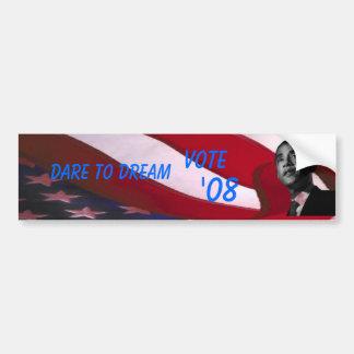 Obama Dare to Dream Bumper Sticker