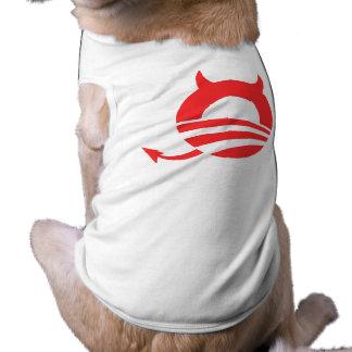 Obama devil pet clothes