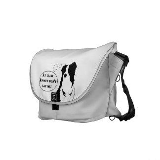 Obama Dog Bag Messenger Bags