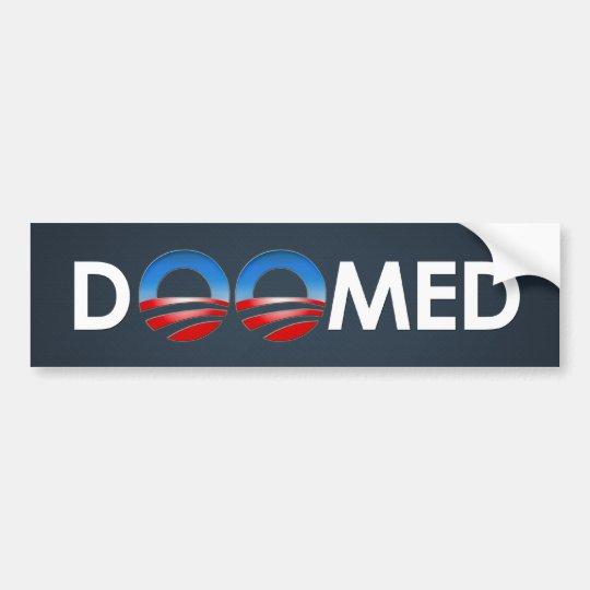 Obama Doomed Bumper Sticker