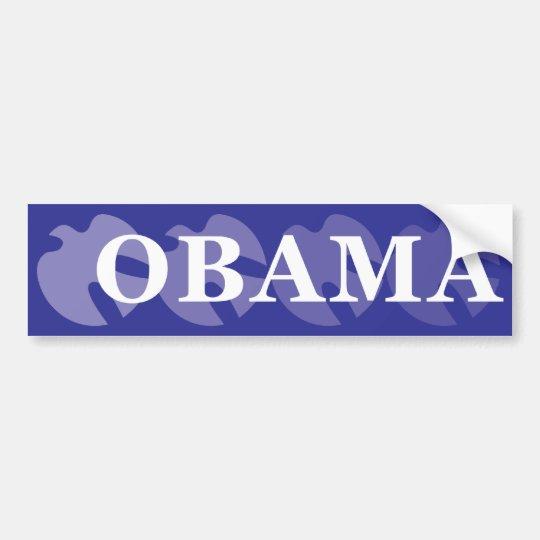 OBAMA DOVE BUMPERSTICKER BUMPER STICKER