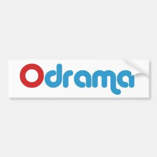 Obama Drama Bumper Sticker