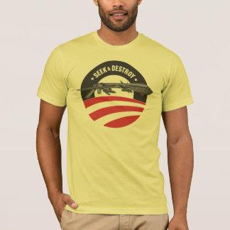 obama drone seek and destroy t-shirt