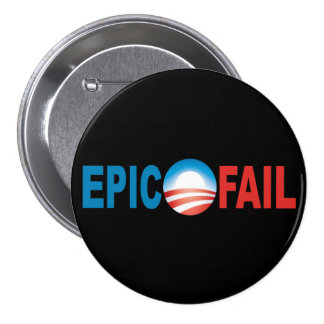 Obama Epic Fail button