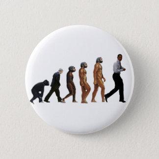 Obama Evolution 6 Cm Round Badge