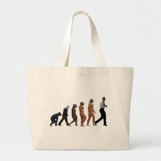 Obama Evolution Large Tote Bag