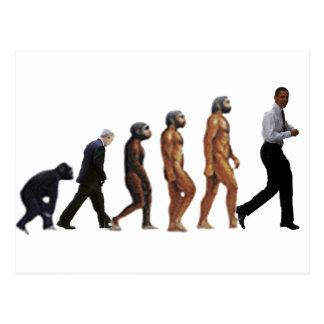 Obama Evolution Postcard