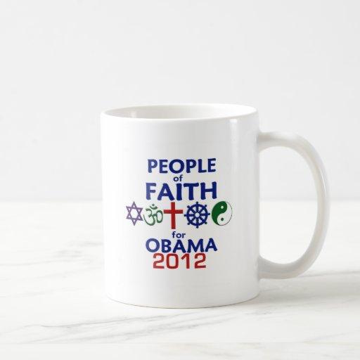 Obama Faith 2012 Coffee Mugs