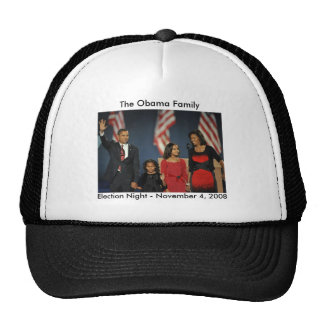 Obama Family Election Night Cap