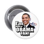 Obama Fan Button