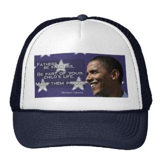 Obama Fathers make them proud Hats