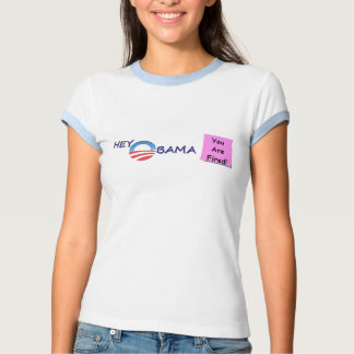 OBAMA FIRED t-shirt