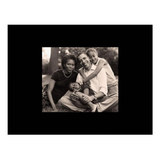 Obama-First Family Postcards