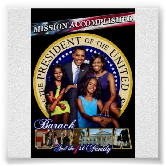 obama-first-family poster