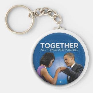 obama fist bump key ring