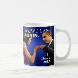 Obama Fist Bump - yes we can again Mug