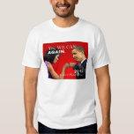 Obama Fist Bump - yes we can again Tee Shirt