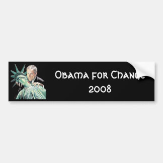 Obama for Change 2008 Bumper Sticker