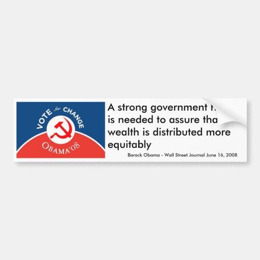 Obama for Change - Bumper Sticker
