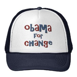 Obama for Change Cap