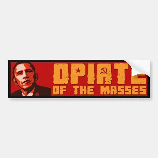 Obama For the Masses Bumper Sticker